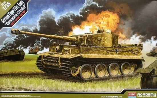 "1:35 Academy 13509 German Tiger-I Ver. EARLY ""Operation Citadel"""
