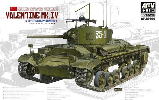 AFV-Club Valentine MK.IV Soviet Red Army Version