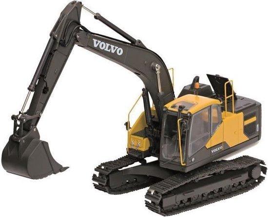 BBURAGO Rupsgraafmachine op bouwvoertuigen EC220E Volvo 1/50 – zwart