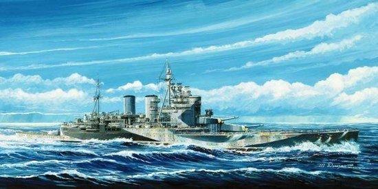 Boats HMS Renown 1945