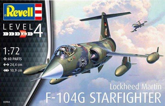 F-104G Starfighter Revell schaal 172