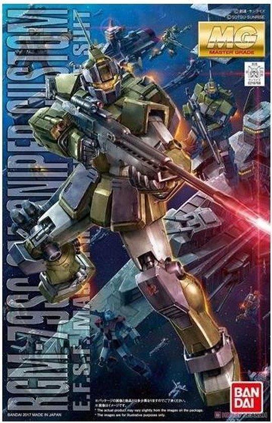 Gundam MG 1/100 RGM-79SC Sniper Cus