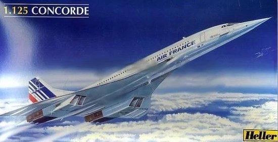 HELLER Concorde 1:125