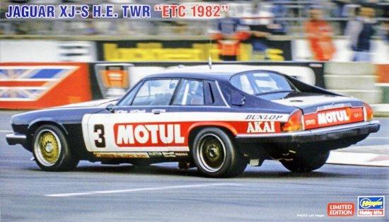 Jaguar XJ-S HE TWR  ETC 1982 – Hasegawa modelbouw pakket 1:24