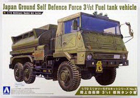 Japan Ground Self Defense Force 3 1/2T Fuel Tank Vehicle