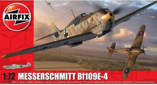 Messerschmitt Bf109E-4 – Airfix modelbouw pakket 1:72