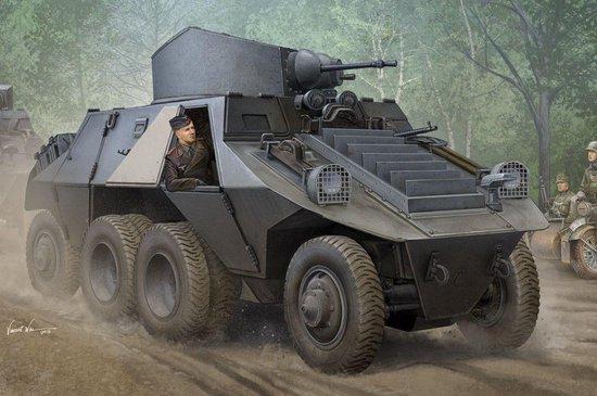 Military M35 Mittlere Panzerwagen ADGZ Daimler