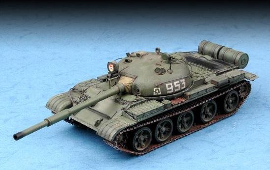 Military Russian T-62 Main Battle Tank Mod 1962