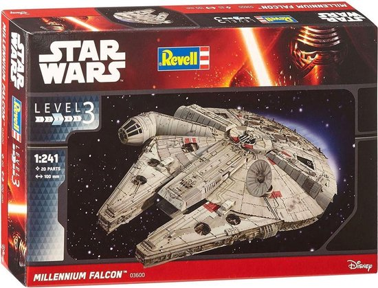 Millennium Falcon Revell schaal 1:241