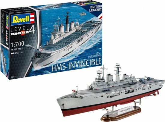 REVELL 1:700 MS Invincible
