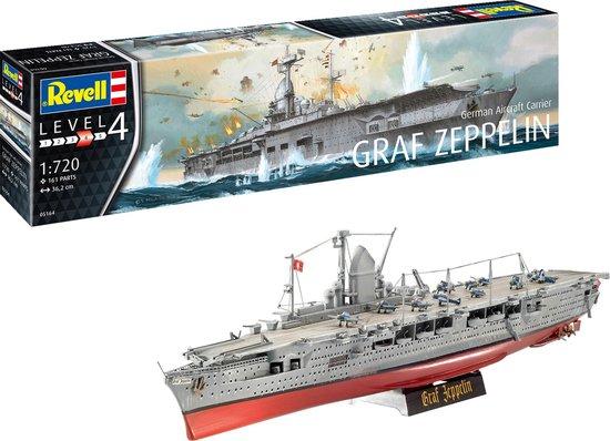 REVELL 1:720 German Aircraft Carrier GRAF ZEPPELIN