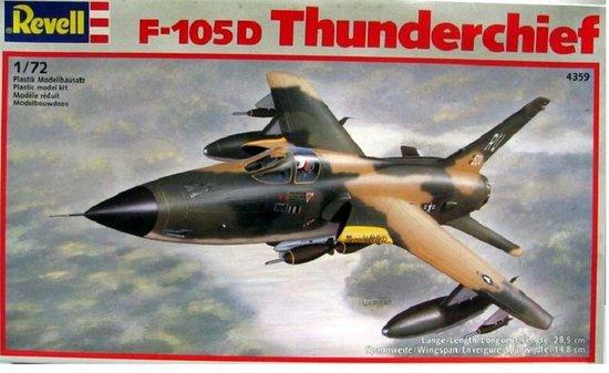 Revell F-105D Thunderchief 1:72