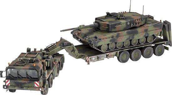 "Revell SLT 50-3 ""Elefant"" + Leopard 2A4 1:72 Montagekit Tank"