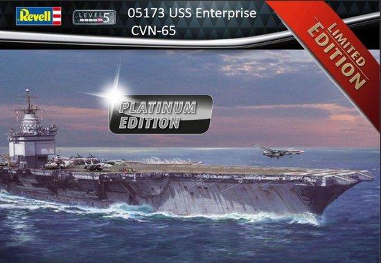 Revell USS Enterprise CVN-65 Platinum Edition
