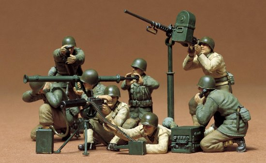 Tamiya US Gun and Mortar Team